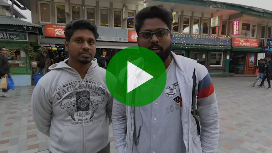 Kishan and Tamil, both working for an IT firm, sharing their worst experience of Water Crisis that hit Chennai in 2019