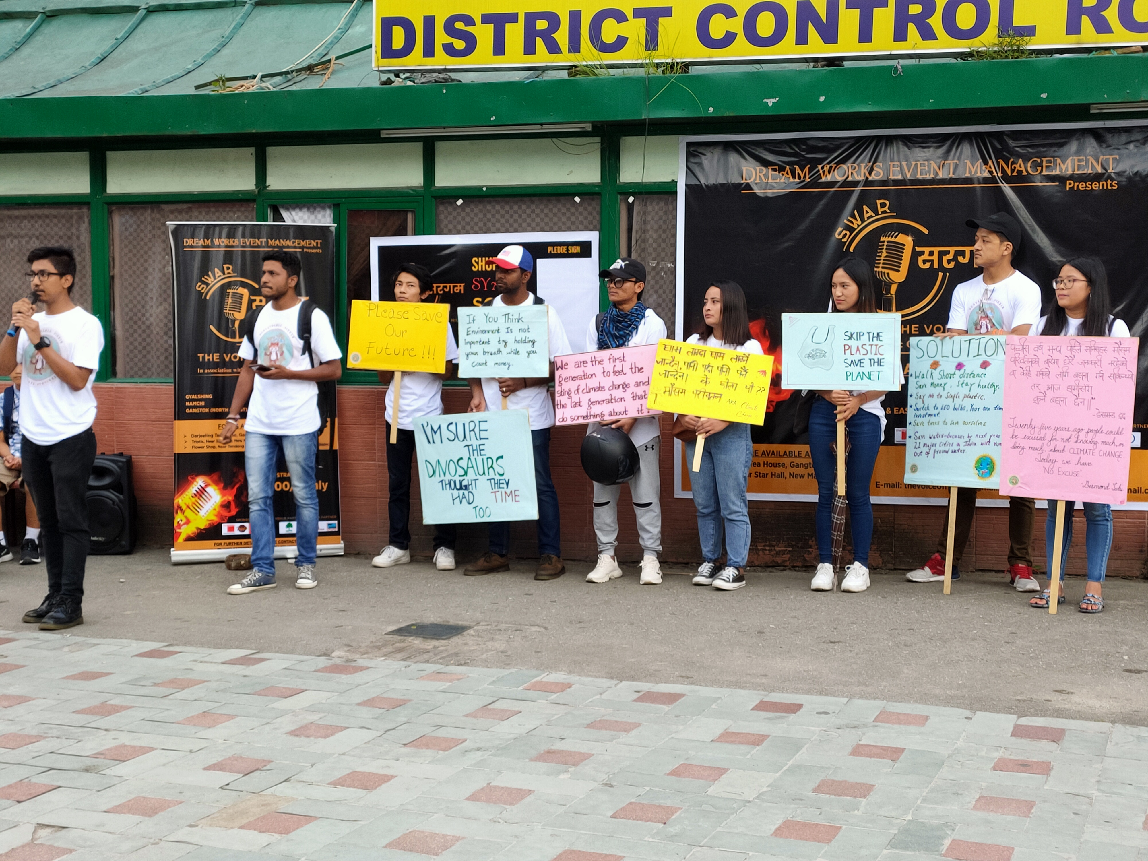 Climate Outreach at MG Marg